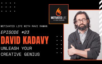 David Kadavy On Unleashing Your Creative Genius [Podcast Ep. #23]